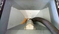 燃料タンクの粉掃除
