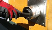 給排気筒の掃除(2)